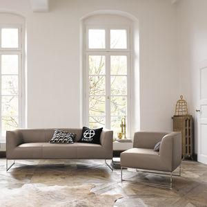 design sofas minimalist sofa / fabric / brown SKFBPKW