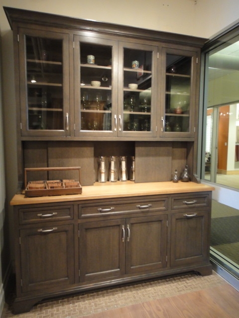 dining hutch stanford hutch in greyer oak traditional-dining-room AIGYHFI