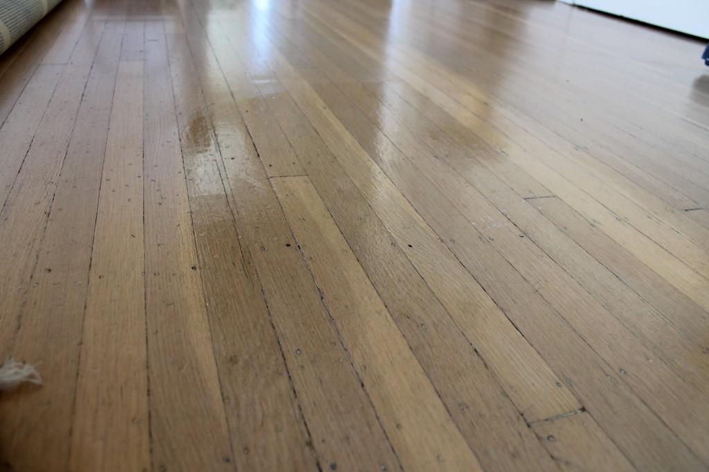 Diy hardwood floor diy floor polish at work PZJHYQM