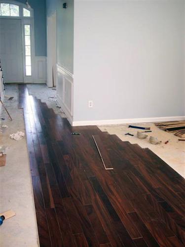 Diy hardwood floor diy hardwood flooring part big how to lay hardwood floors LZSYOYP