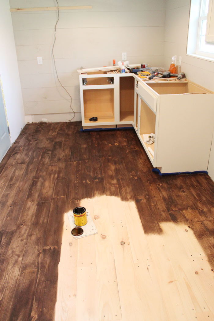 Diy hardwood floor diy hardwood floors for less than $1.50/sq ft   the harper house HSZTAQV