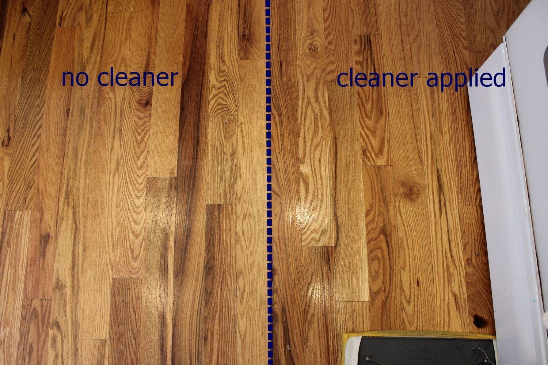 Diy hardwood floor diy wood floor cleaner - apply to floor EHBTPNU
