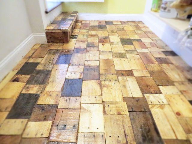 Diy hardwood floor introduction: creating a diy pallet wood floor with free wood ETMAQIZ