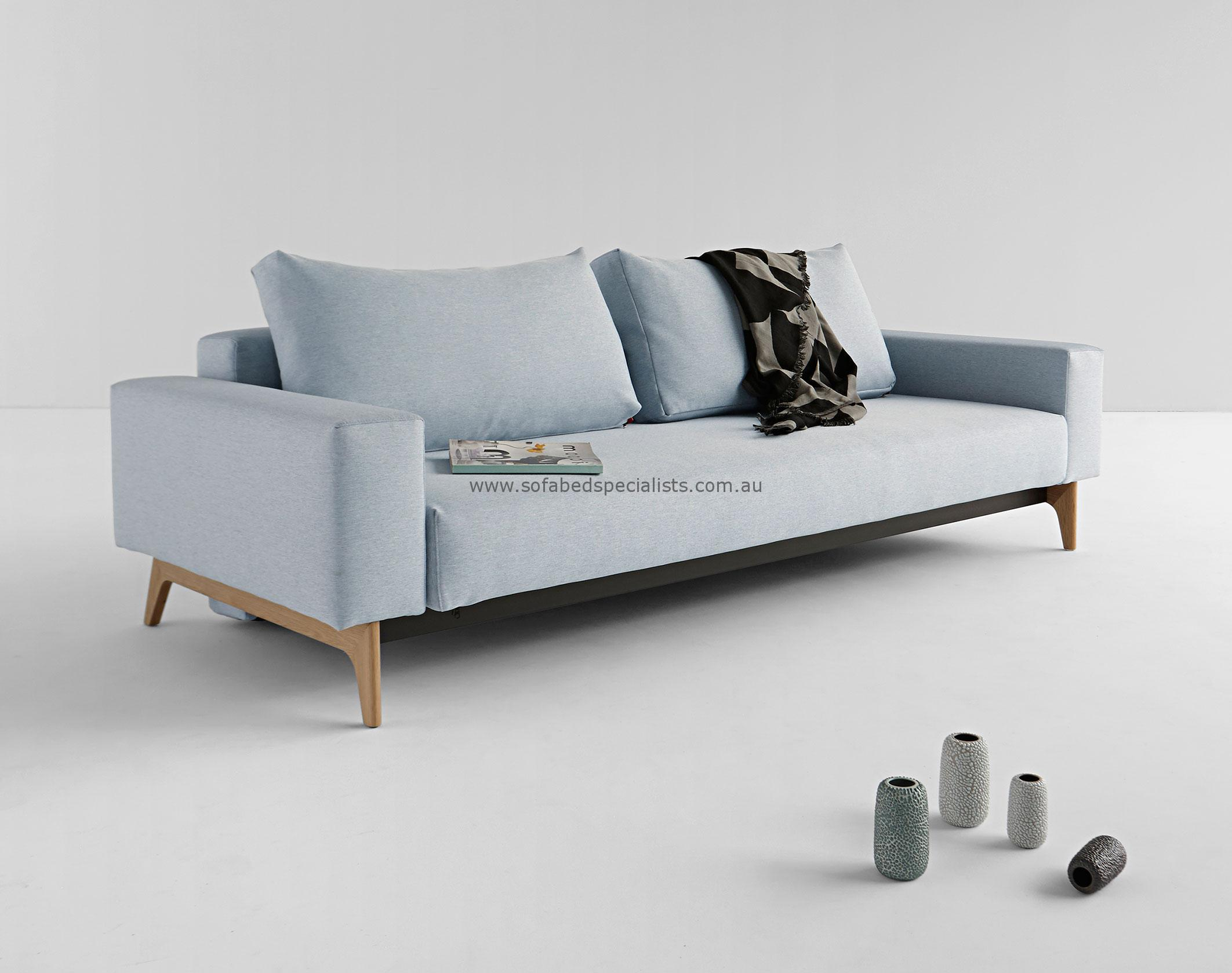 double sofa bed sofabed-double-idun-blue TLJLKVF