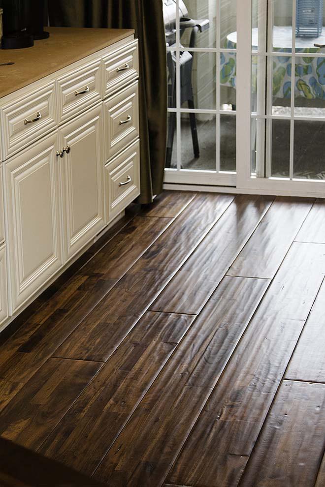 durable hardwood flooring the pros and cons of acacia flooring GYQNXMD