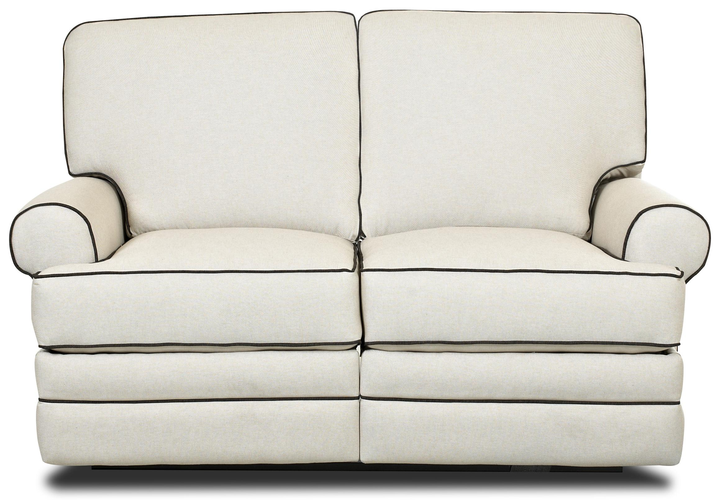 electric reclining loveseat klaussner belleview power reclining loveseat - item number: 21303 pwrls RLTQVSQ