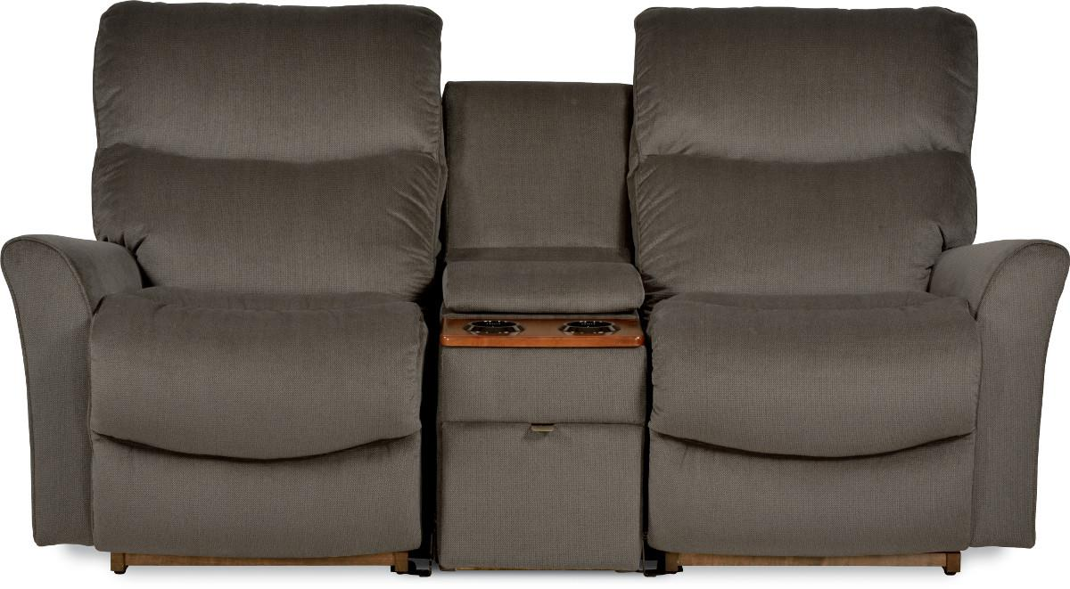 electric reclining loveseat three piece contemporary power reclining loveseat with storage and  cupholder console ERDTAVJ