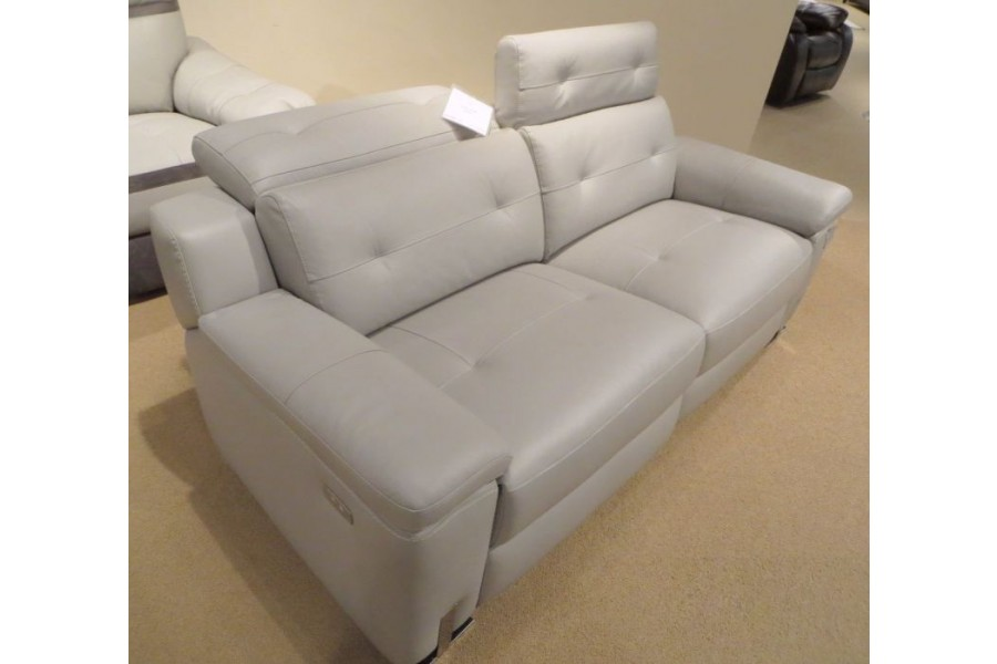 electric reclining loveseat ... vortex power reclining loveseat - adjustable headrest ... QDRABVZ