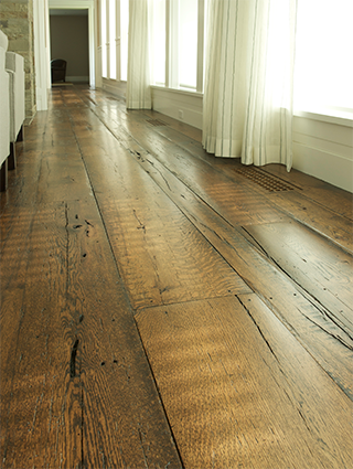 elegant wide plank flooring reclaimed oak woodwrights wide plank flooring NXGEYGS