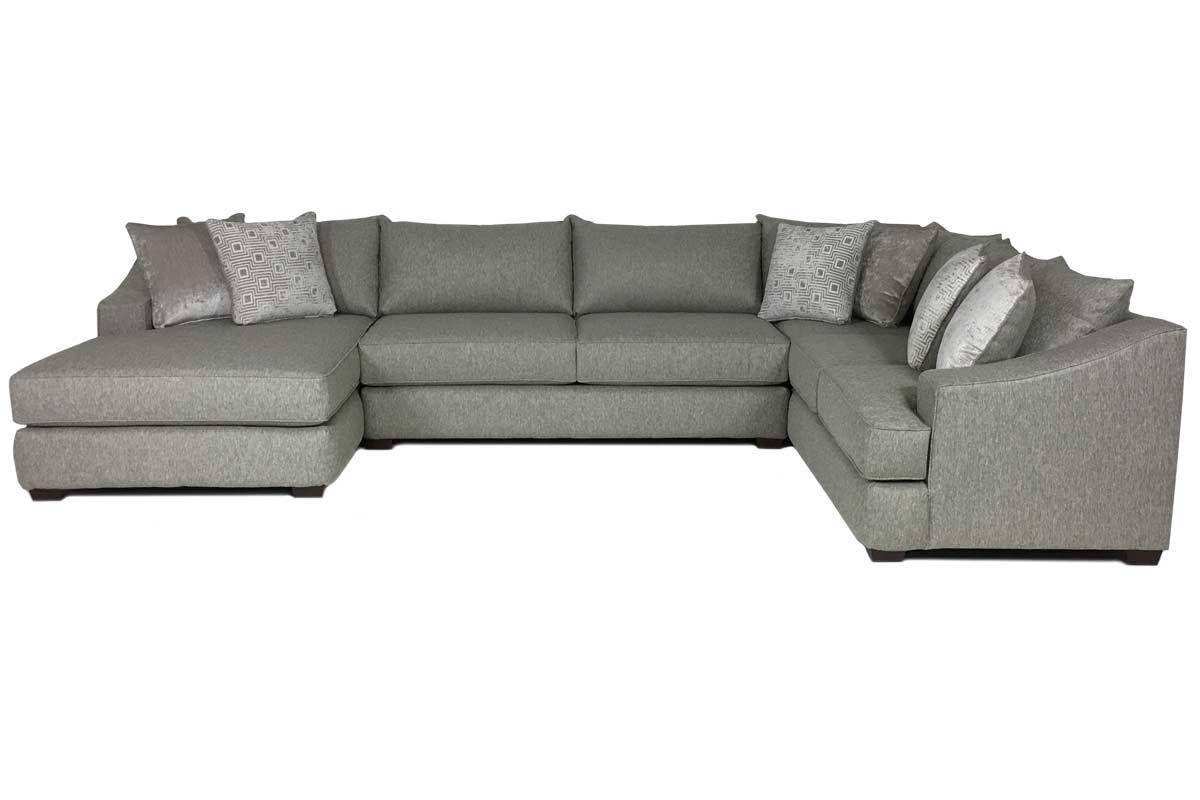 encino custom sectional sofa - front KOFOFHO