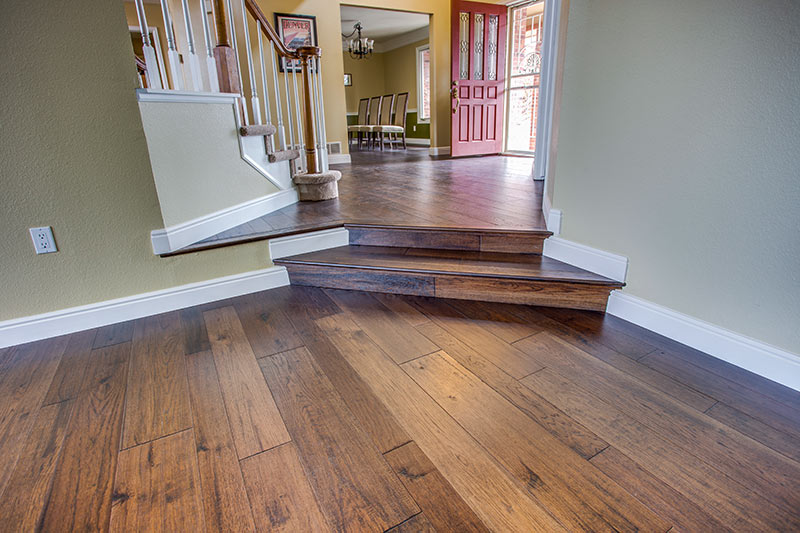 engineered hardwood flooring featured in denver remodel URKSNGX