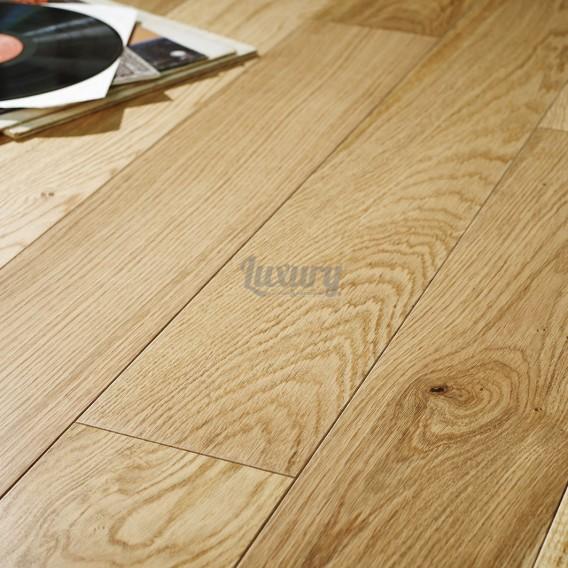 engineered oak flooring 180mm pearl satin lacquered engineered european oak wood flooring 14/3mm  thick XWPHVIL
