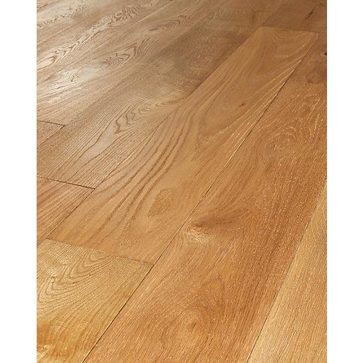 engineered oak flooring wickes sunshine oak real wood top layer engineered wood flooring |  wickes.co.uk VQBCVCQ