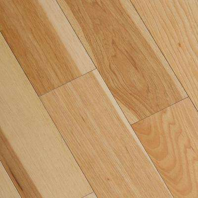engineered oak flooring wire brushed natural hickory 3/8 in. t x 5 in. wide x VZKNKAF