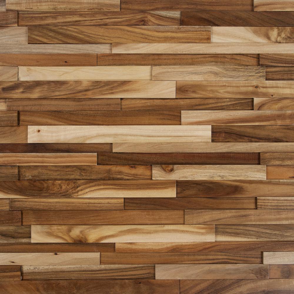 exotic hardwood flooring take home sample - deco strips wheat engineered hardwood wall strips - 5 HSEBBRF