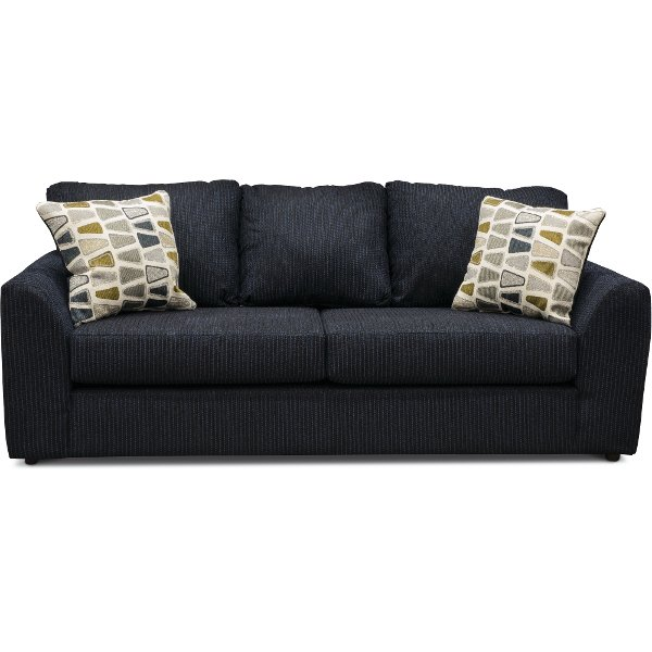 fabric couches casual contemporary dark blue sofa - hannah SGGKMSN
