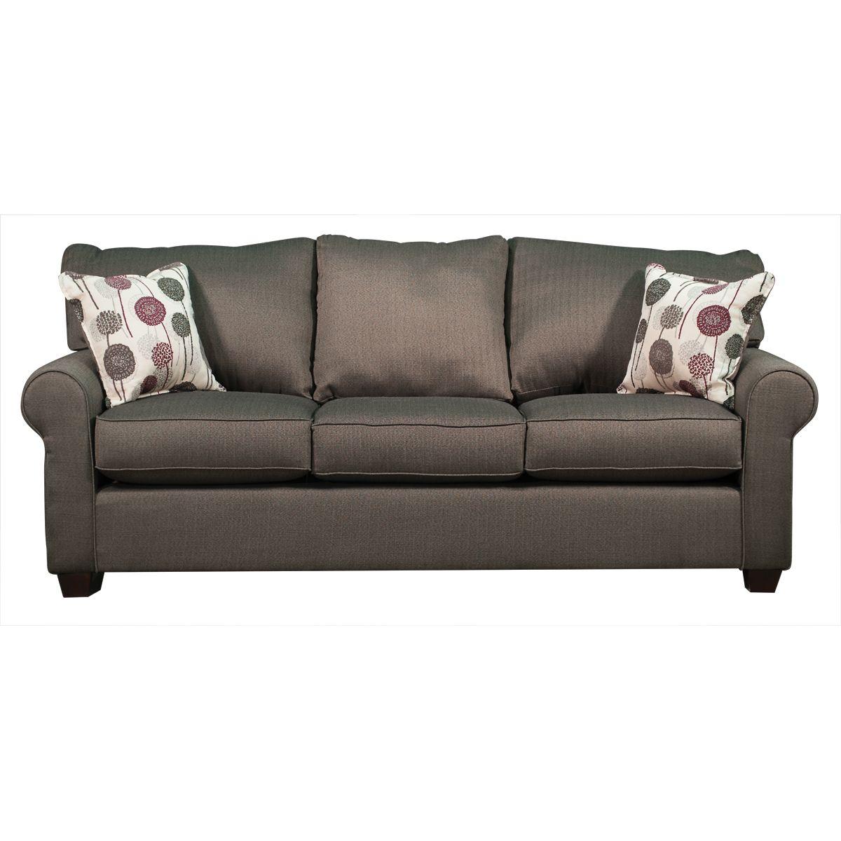 fabric couches casual contemporary slate sofa - seaside FQASCGK