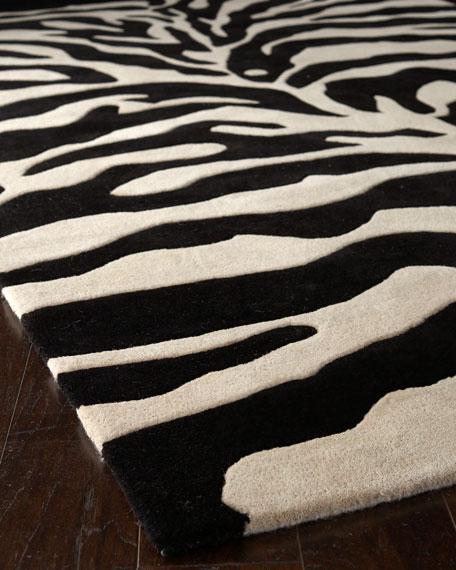fair ivory zebra rug, ... RUQENCC
