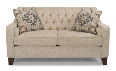 flexsteel sofa fabric loveseat ZAXEVTR