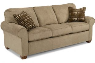 flexsteel sofa flexsteel paige sofa in tan HMLEFIS