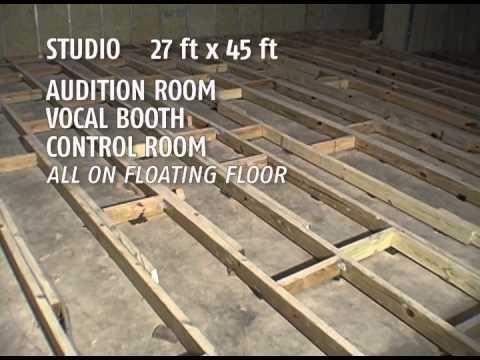 Floating flooring for studios gmmc digital studio in the making - floating floor design EMQAWSG