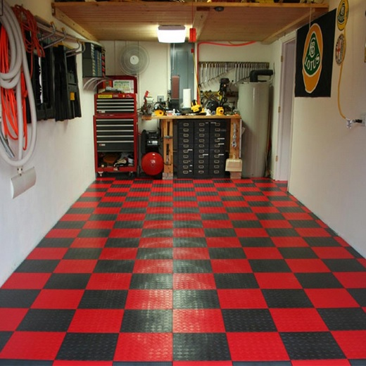 floor covering garage floor coverings ideas for your garage » rubber tiles garage floor CUNXVRH
