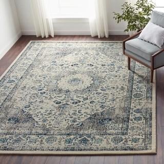 floor rugs safavieh evoke vintage oriental grey / ivory distressed rug (8u0027 x ... IRQVVJN