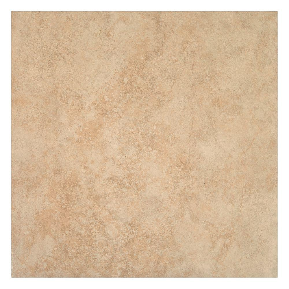 floor tile trafficmaster island sand beige 16 in. x 16 in. ceramic floor and wall WNIPACH