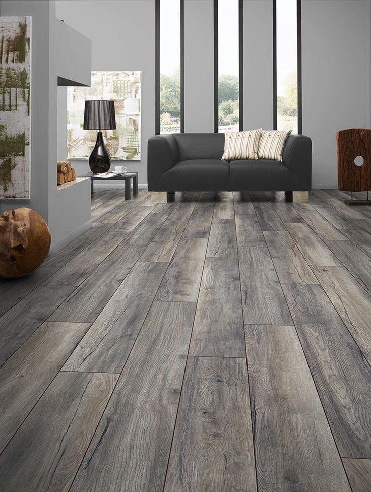 flooring ideas builddirect - laminate - my floor 12mm villa collection - harbour oak grey TIRRXRQ