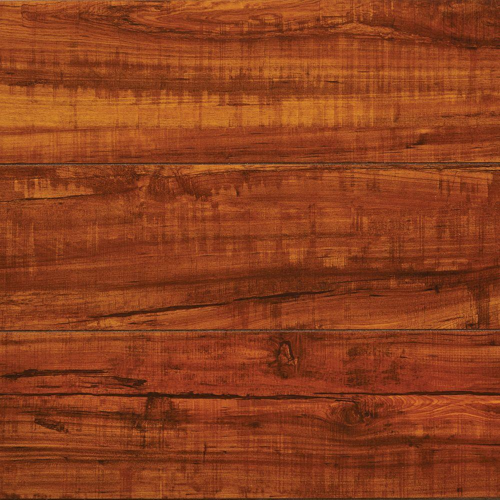 flooring wood home decorators collection high gloss perry hickory 8 mm thick x 5 in. NRYWQYT