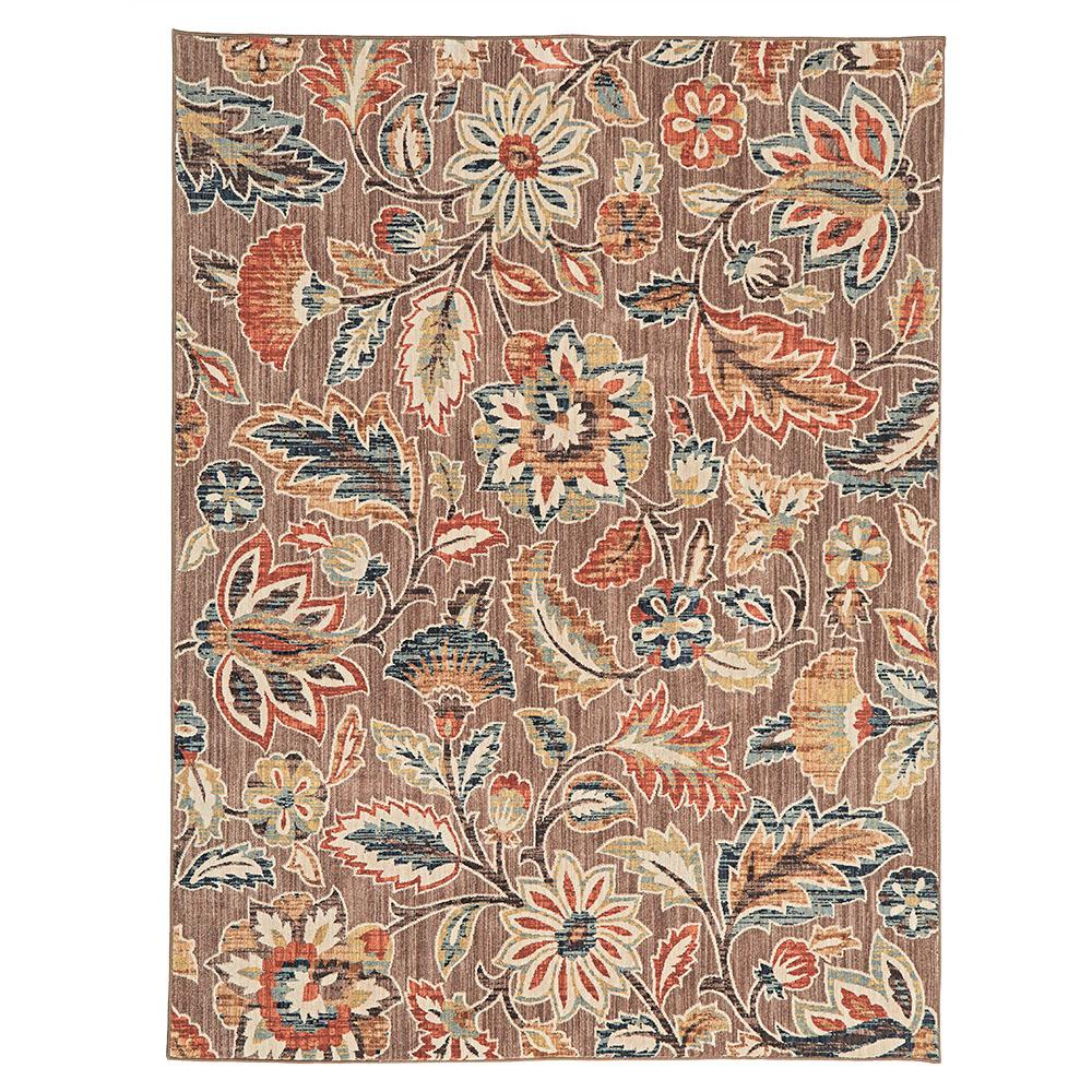 floral rug area rug ANWTMVR
