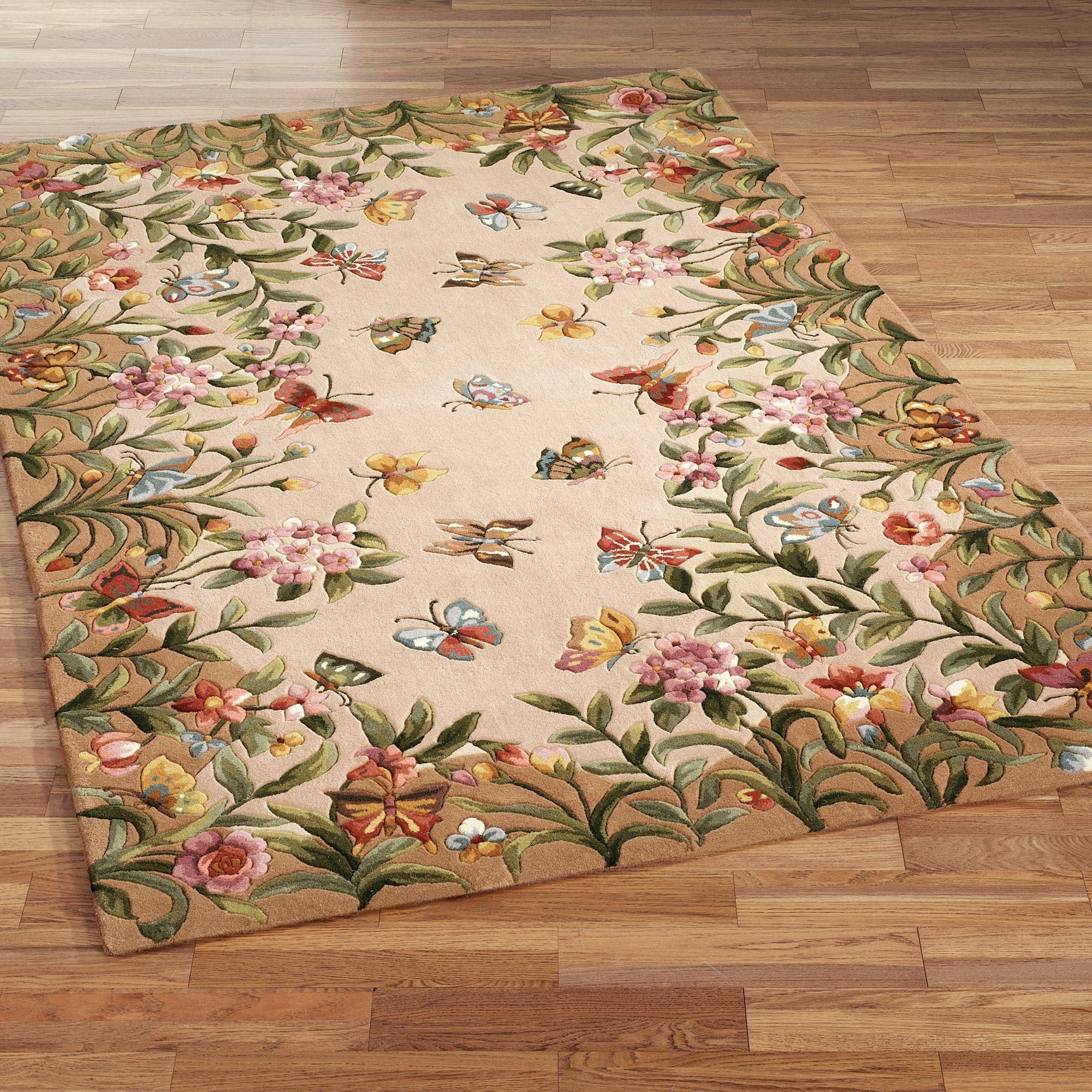 Choosing the best floral rug