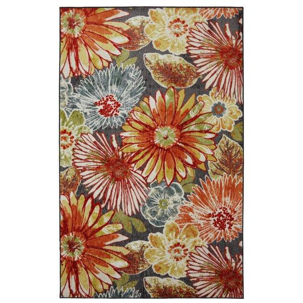 floral rug floral rugs youu0027ll love | wayfair CJSUQVC