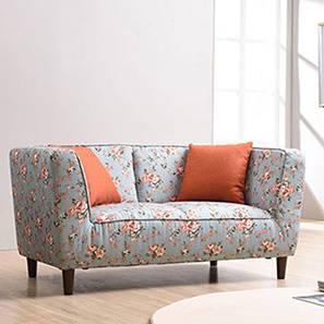floral sofa and loveseat janet loveseat (vintage floral teal) by urban ladder HPKLRRQ