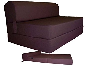 Foam sofa bed folding couch bed brown sleeper chair folding foam bed sized 6 thick x ARASNBG