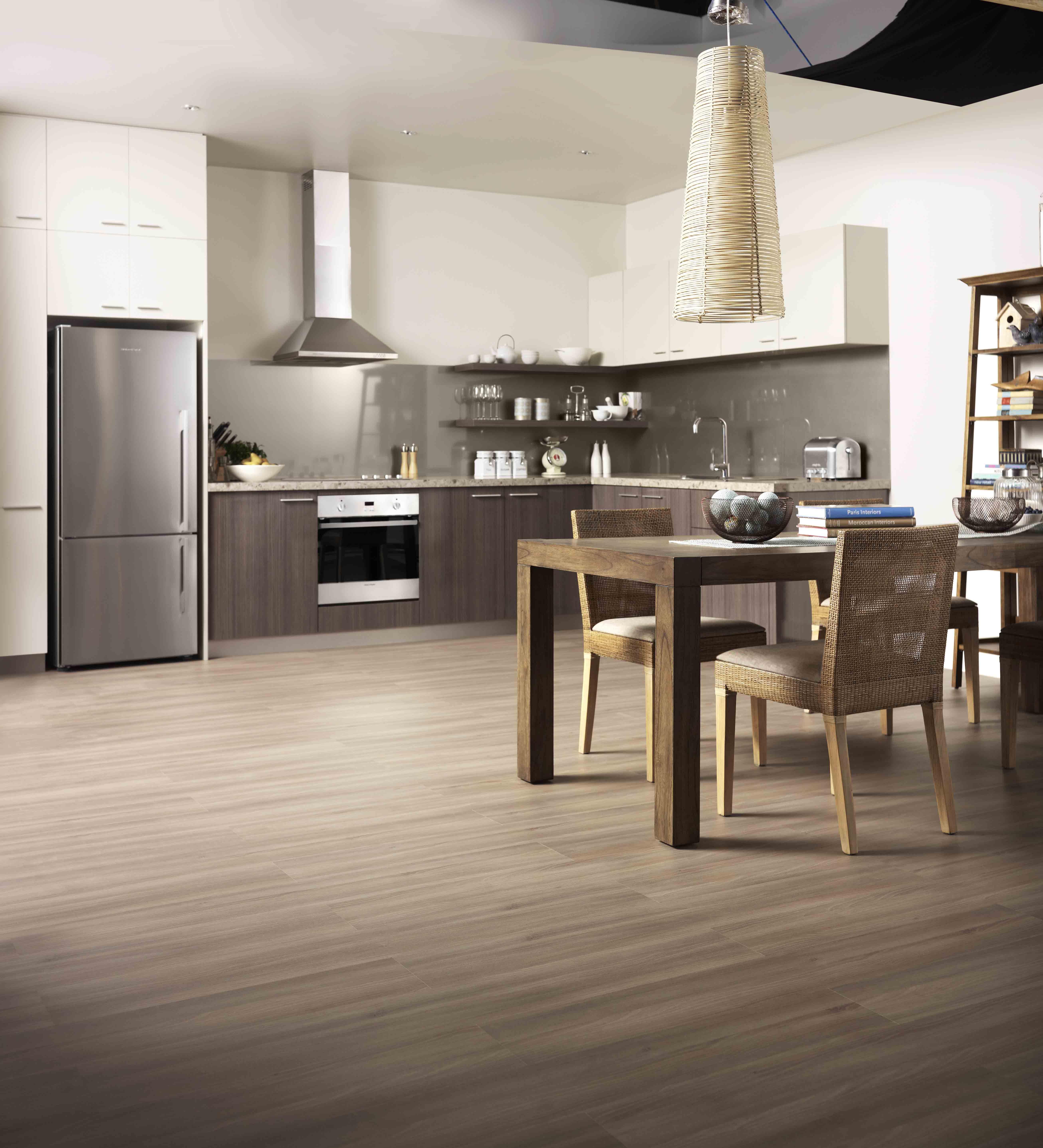 formica flooring in chocolate acacia. TKRFXPA
