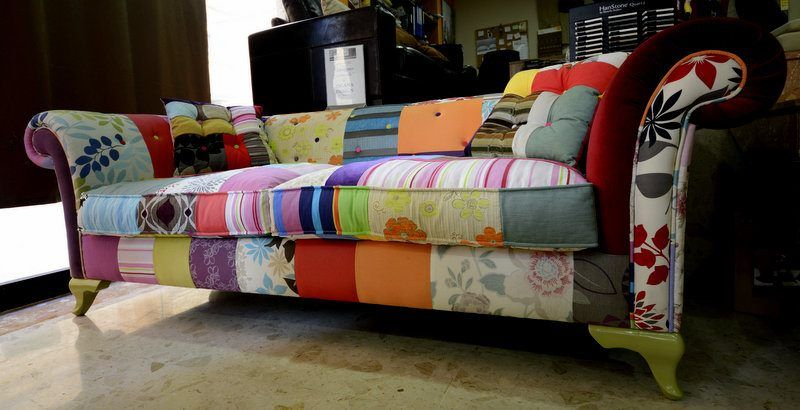 Bring out the youthfulness in your home by using a funky sofa
