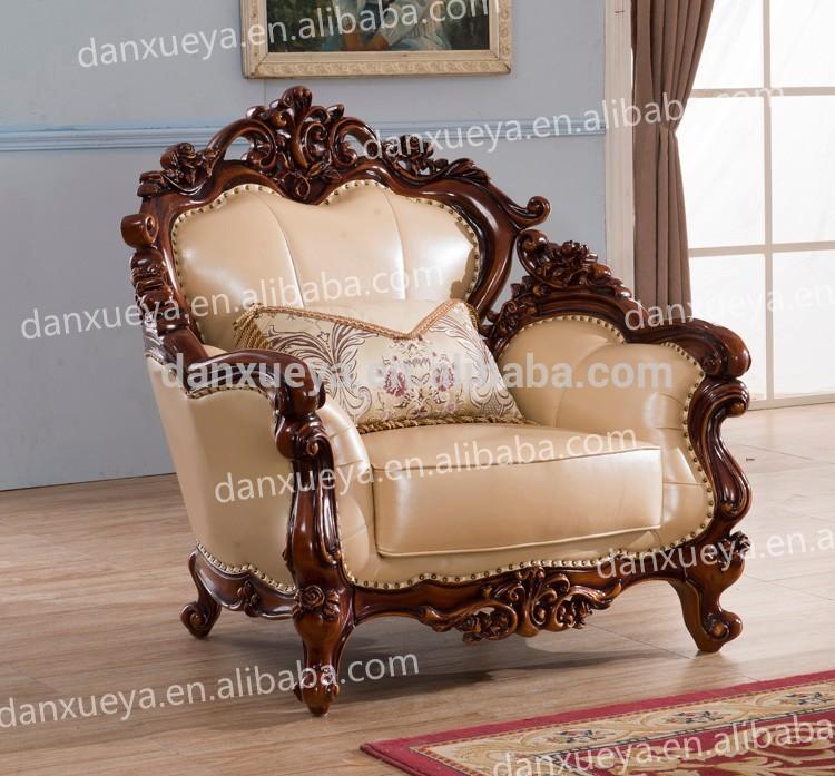 Furniture sofa set danxueya baroque furniture /wooden sofa set designs/pictures of wooden sofa  designs - GCEXCGN
