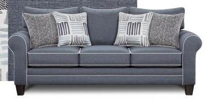 fusion furniture 1140denim denim sofa NARMGVB