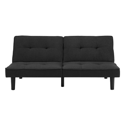 futon sofa black - room essentials™ SDOXOYP