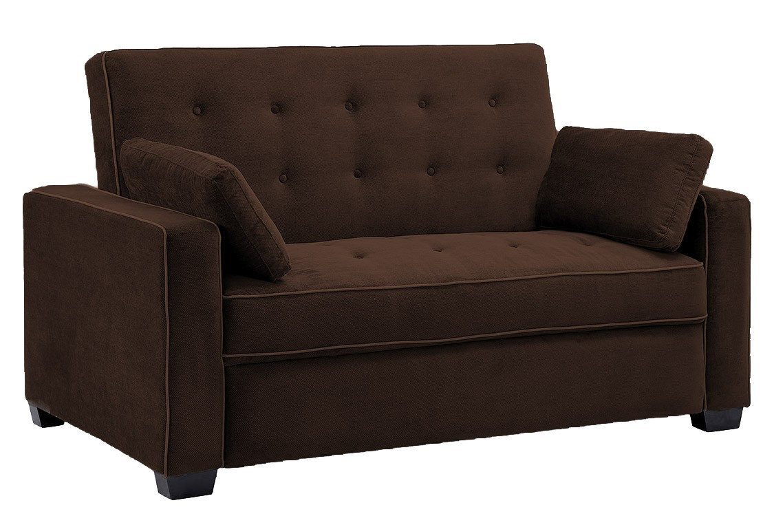 futon sofa jacksonville_modern_convertible_futon_sofa_bed_sleeper_chocolate brown sofa  bed futon couch FMUJPOU