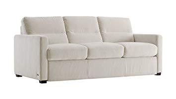 galileo cream microfiber queen sleeper sofa MZOONBL
