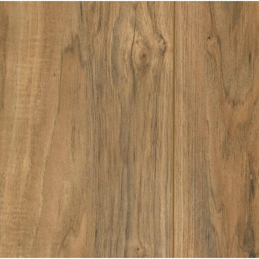 Glueless laminate flooring lakeshore pecan 7 mm thick x 7-2/3 in. wide x 50 NFTFPBW
