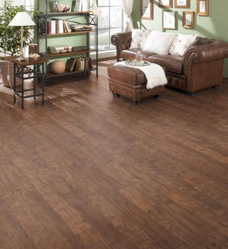 Glueless laminate flooring room - supreme click premier 7mm light maple laminate flooring ... FFNSXJN