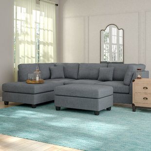 gray sectional couch save IVFRJEF