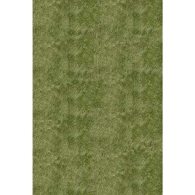 Green area rugs luster shag apple green 2 ft. x 3 ft. indoor area rug UMKKTJM
