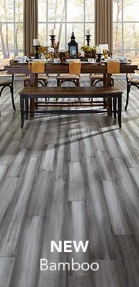 Grey laminate wood flooring new bamboo assortment · laminate flooring TYSRWAN
