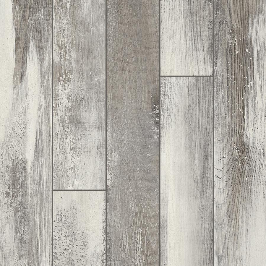 Grey laminate wood flooring pergo portfolio iceland oak grey 5.23-in w x 3.93-ft l embossed wood FCLVYZT