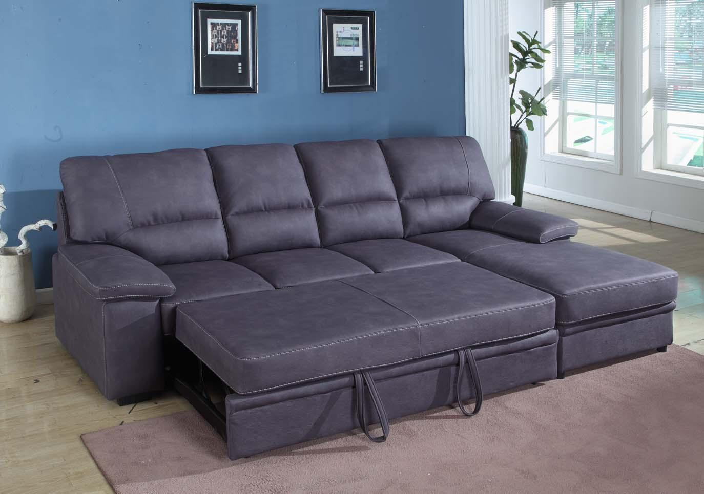 Seating furniture – sleeper sectional sofa
