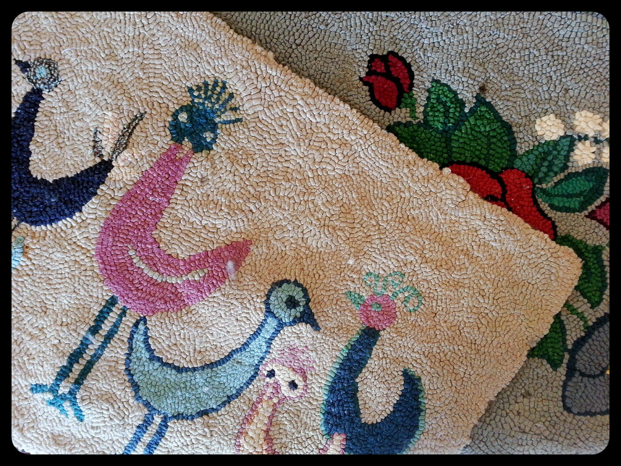 hand hooked rugs AMTILLC